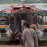 Vietnamese Dragon Boat on the Perfume River