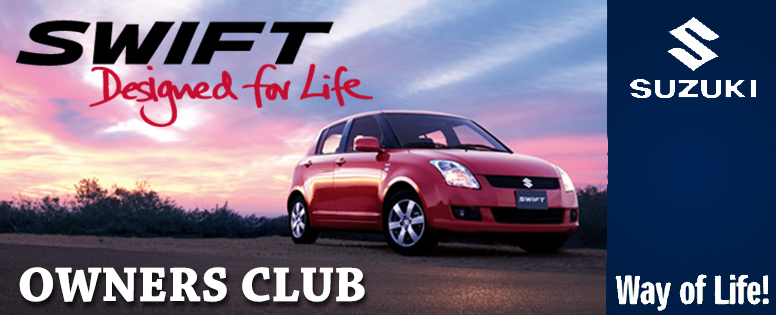 Swift Owners Club banner