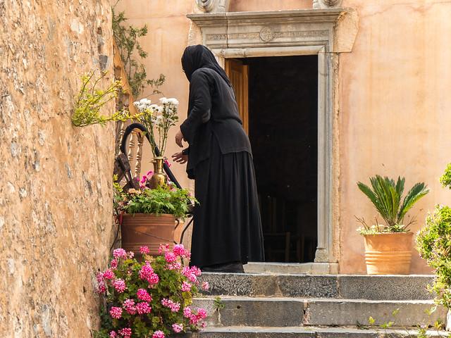 Kloster Kremaston Neapoli Kreta