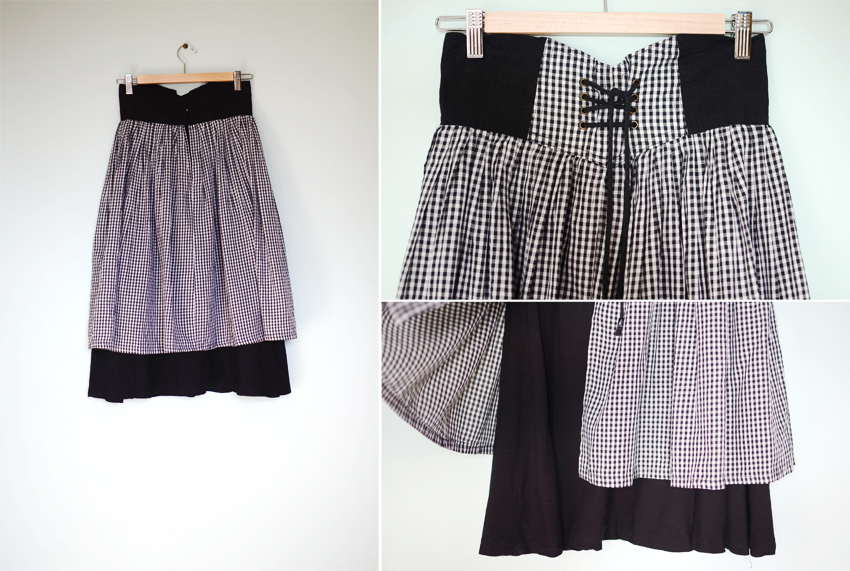 black-gingham-skirt b