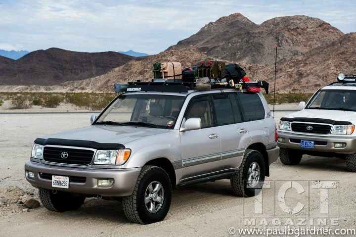 review labrak 100 series roof rack toyota cruisers. Black Bedroom Furniture Sets. Home Design Ideas