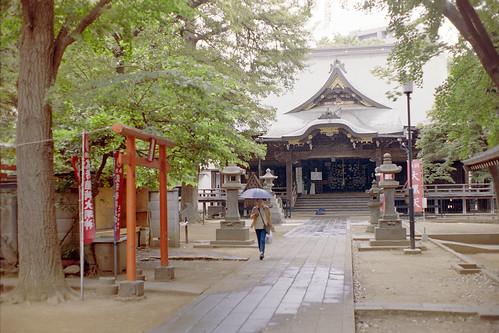 鬼子母神堂/Homyoji temple