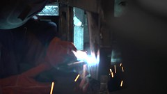 welding, light, darkness,