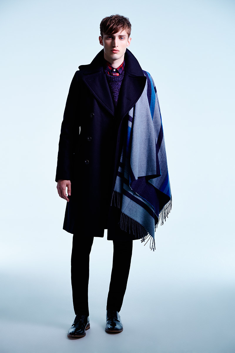 Charlie France0309_River Island's Fall Winter 2014 Lookbook(sight Management Studio)