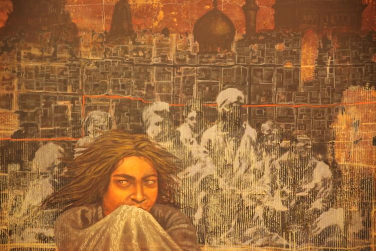 Art Exhibition Pays Homage To Delhi Gang Rape Victim