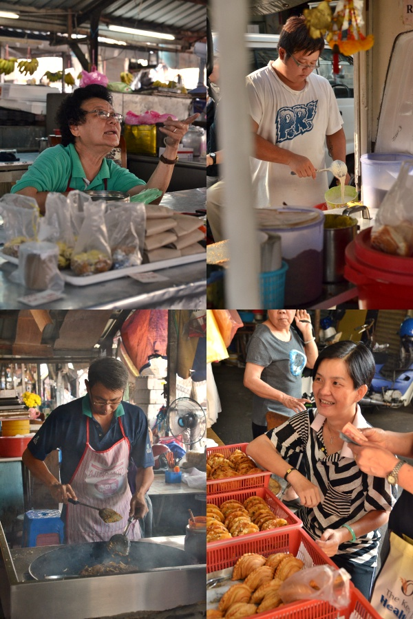 Collage Simee Market Traders