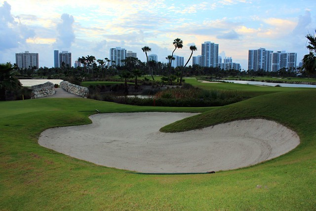 Sand Trap @ Turnberry Isle Golf