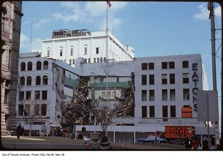 Demolition of Eaton's Queen and Yonge department store