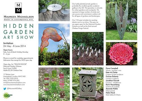 Hidden Garden invitation