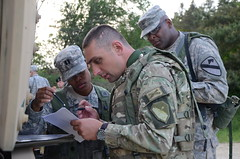 Georgian, U.S. soldiers at Combined Resolve II
