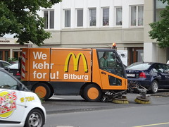 Bitburg: Cleaning sponsored by Mac