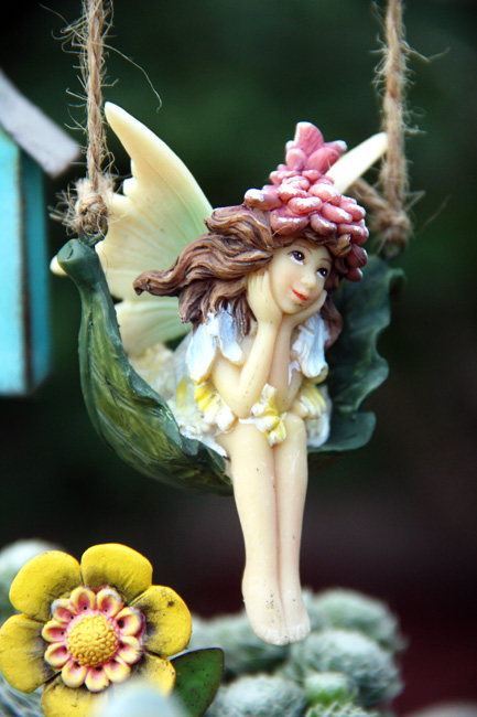 Fairy-on-swing