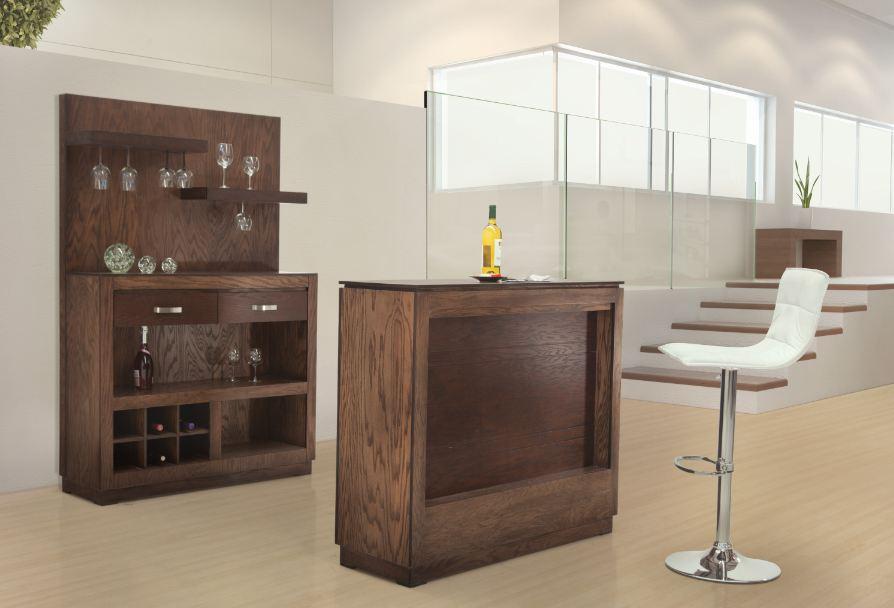Muebles Placencia Cantina Barra Nevada Tabaco Claro