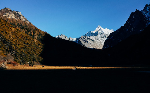 Yading Sunset