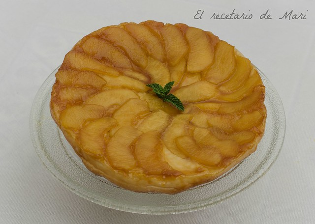 Tarta tatín de manzana (1)