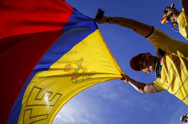 (2)BRASIL-BRASILIA-MUNDIAL 2014-COLOMBIA VS COTE D IVOIRE