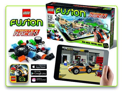LEGO Fusion: Create & Race