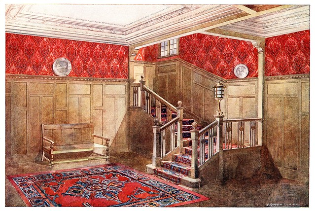 1910 wallpaper room design