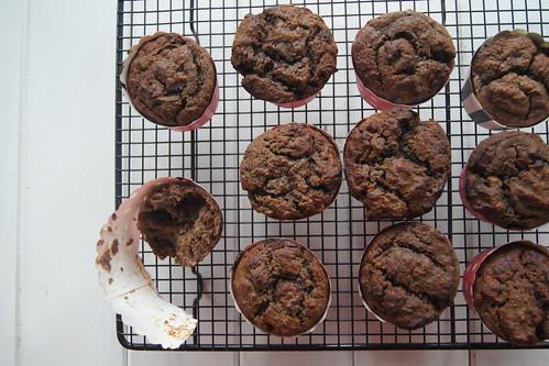 choc banana muffins gluten free DSC08187