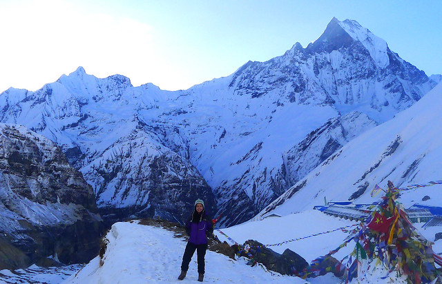 me at Annapurna Base Camp