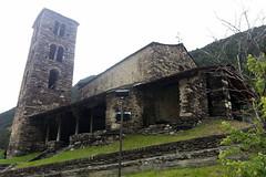 Church Sant Joan de Caselles, Canillo, Andorra