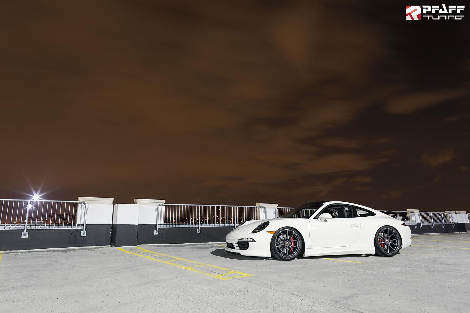 Gmg Roll Bar Installed In White Porsche 991 Carrera S At Pfaff Tuning Canada Rennlist