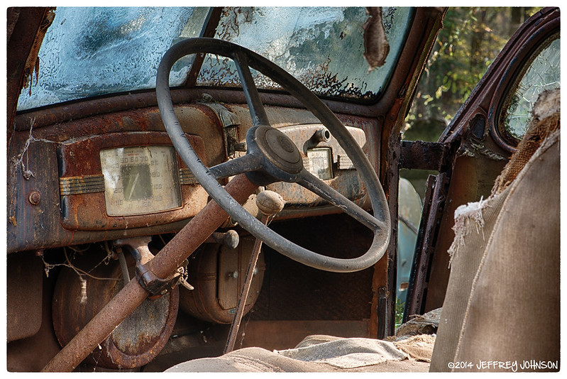 Old Cars and Rust   This shot Michael Ann was from an old