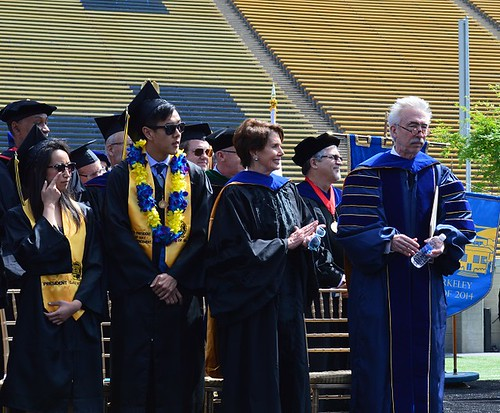 Congresswoman Pelosi Address Cal Grad at UC Berkeley Commencement