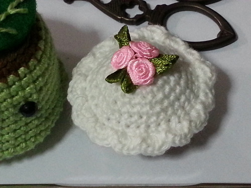 Mini Cupcake and Green Tea Pudding