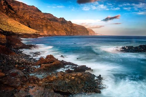 sunset sea mountain landscape teno d800 2014 puntadeteno 2470