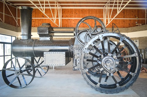 Martin Luther steam engine