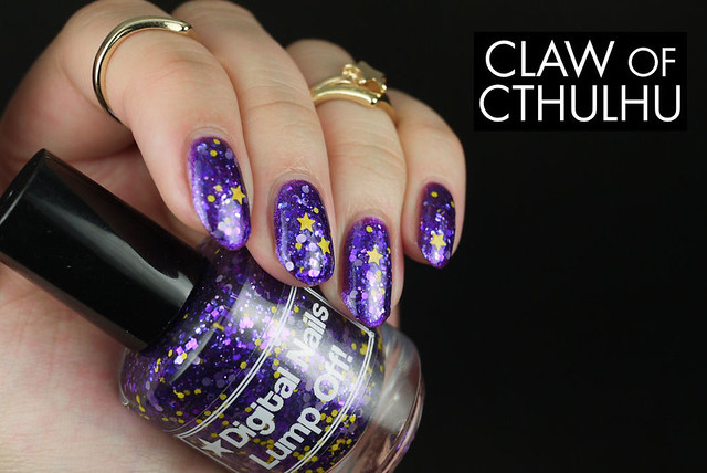 Digital Nails Lump Off! Swatch