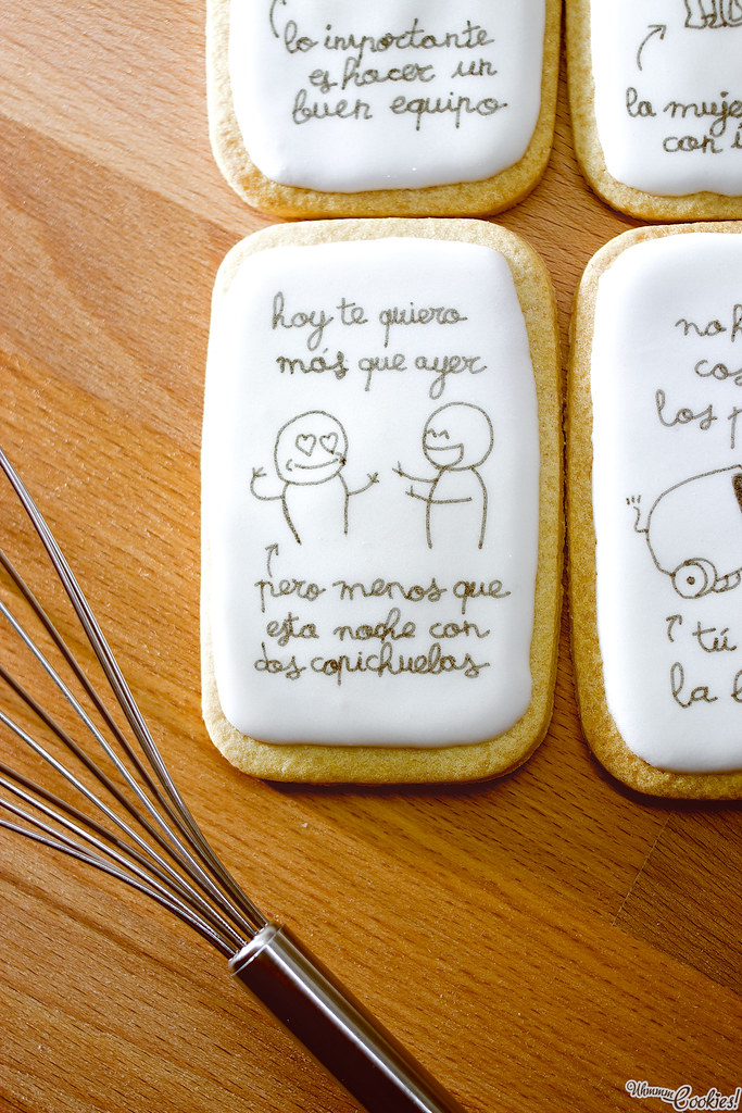 «Mr. Wonderful Cookie Set» ah... la exaltación de la amistad durante todo proceso etílico. A nosotros nos pasa, por eso os queremos muchísimo y a todas horas.