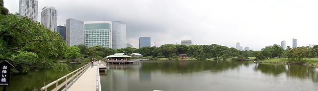 Hama-Rikyu Garden Panorama