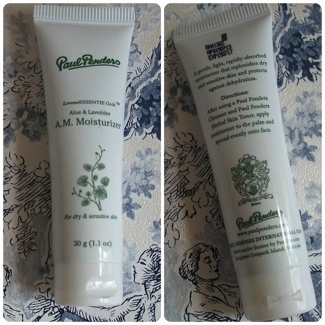 Paul Penders Aloe & Lavender Moisturiser Review