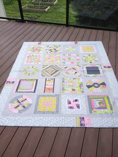 3x6 and Quilting Divas Bee quilt