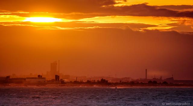 Trani sunset