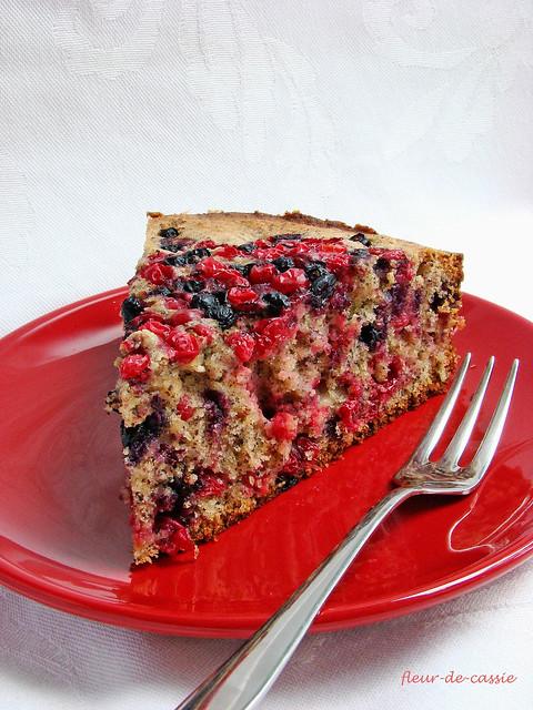 ягодно-маковый пирог 3