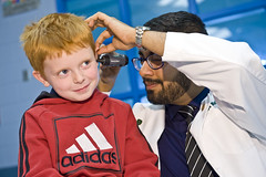 Medical students and 5-year-olds learn lessons from one another