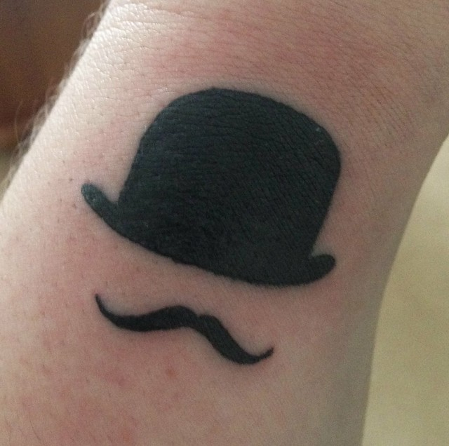 Poirot tattoo