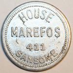 Trade Token 65 cents obverse