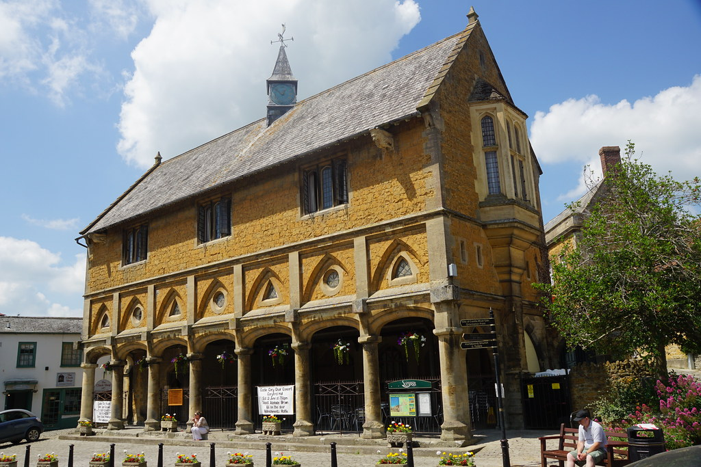 The market hall in Castle Cary