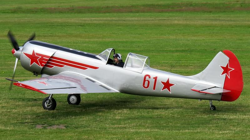 G-YAKM Yakovlev Yak-50