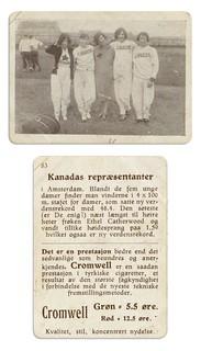 Canadas gulljenter fra de Olympiske Leker i Amsterdam (1928)