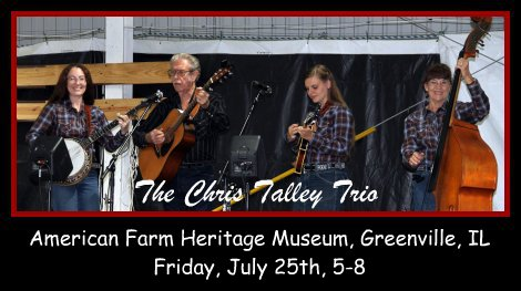 The Chris Talley Trio 7-25-14