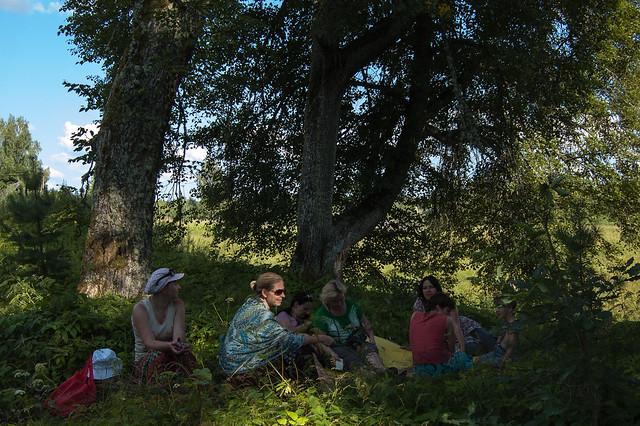 Land Art 2014 Gostilovo - Ленд Арт 2014 Гостилово -  Olga Ornata - Ольга Орната
