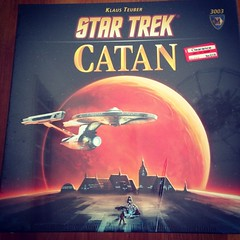 Anyone want to come over and play tonight? #catan
