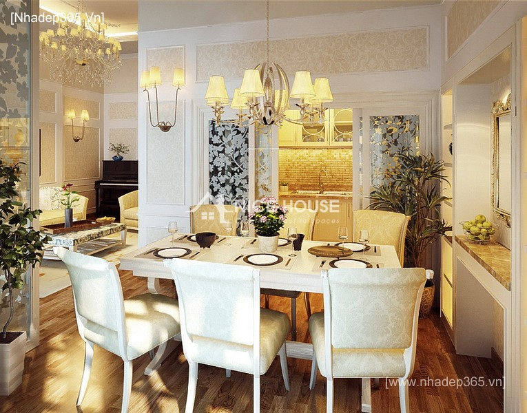 Thiết kế căn hộ chung cư Láng Hạ - HN_3