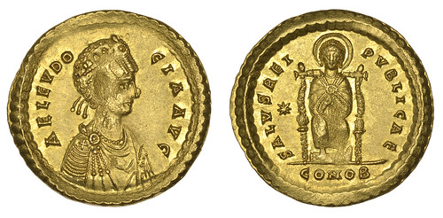 Eudocia double solidus