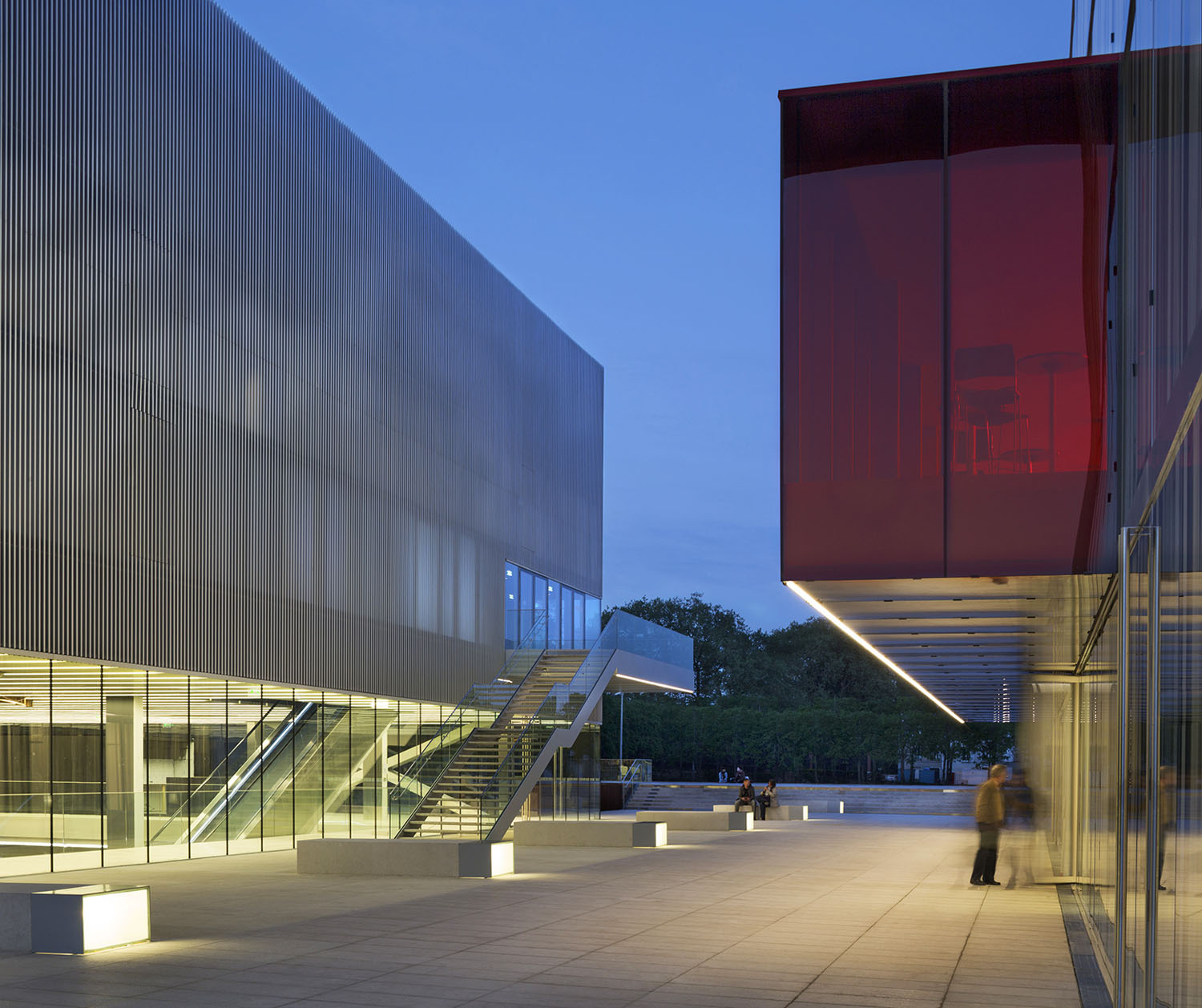 Les Quinconces Cultural Center design by Babin+Renaud